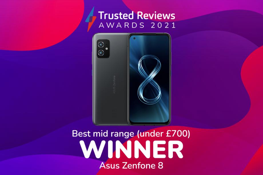 TR Awards 2021 best mid-range phone winner
