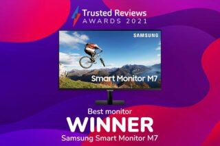 TR Awards 2021 Best Monitor winner