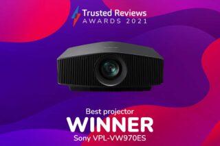 TR Awards 2021 Best Projector winner