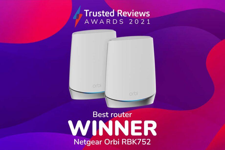 TR Awards 2021 best router winner