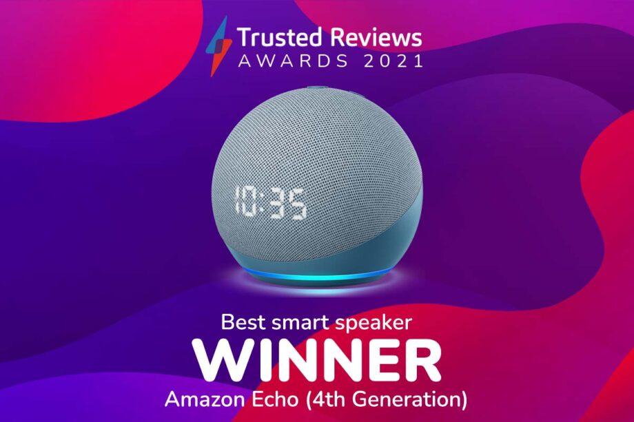 TR Awards 2021 Best Smart Speaker winner