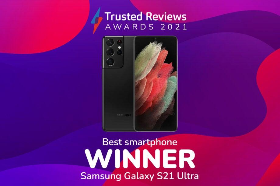 TR Awards 2021 Best smartphone winner
