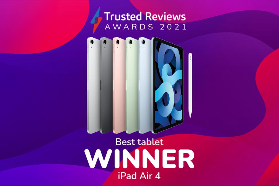 TR Awards 2021 best tablet winner