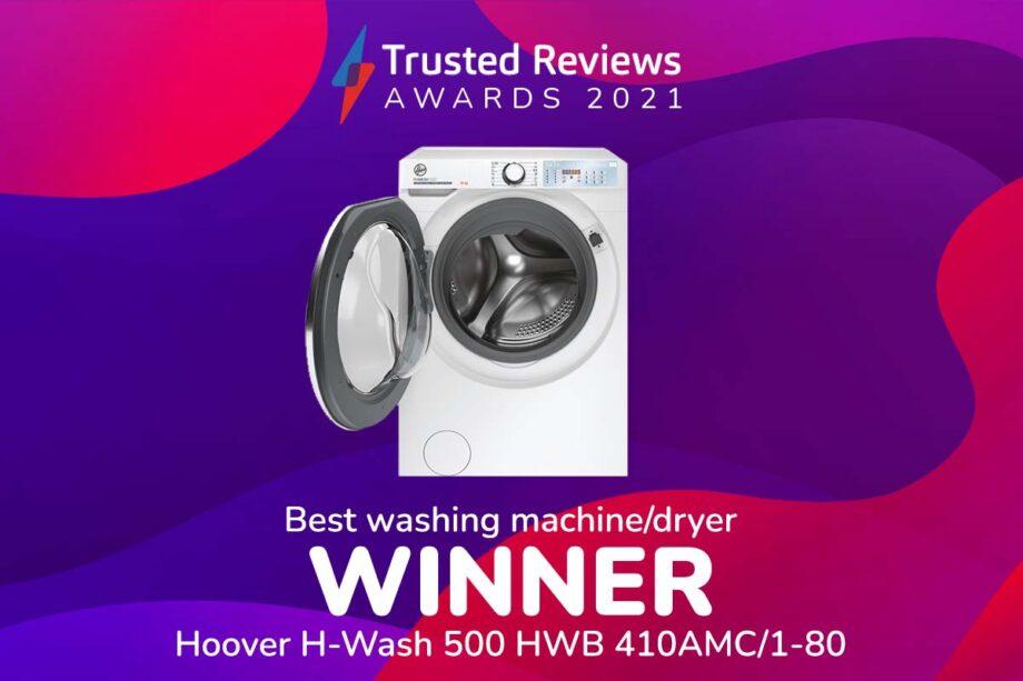 TR Awards 2021 Best Wachine Machine winner
