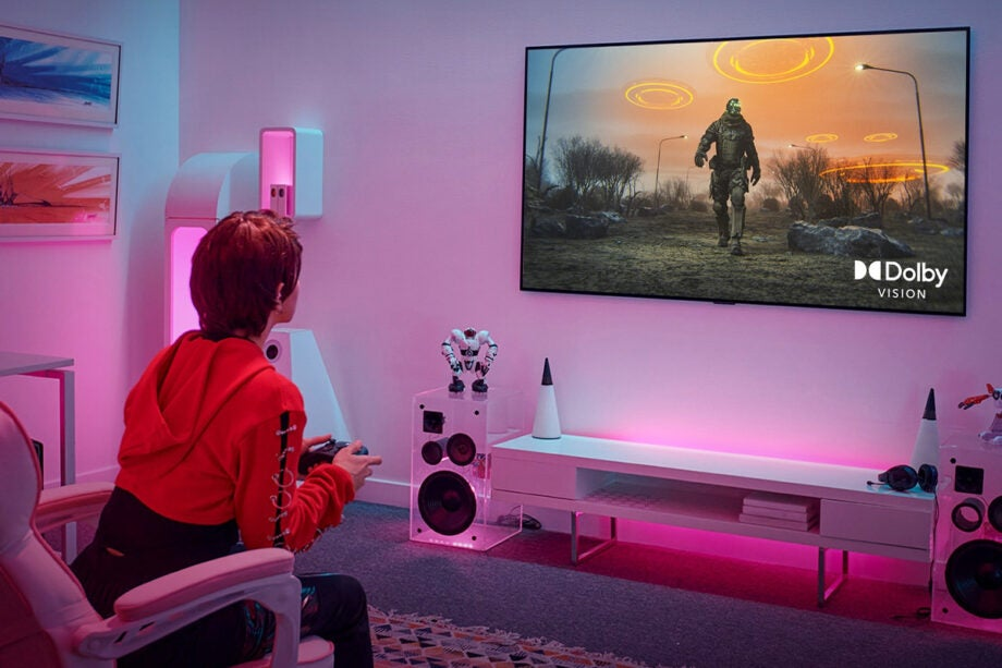 Dolby Vision for gaming on an LG TV