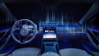Mercedes-Benz S-Klasse Presse Fahrvorstellung. Immendingen 2020Mercedes-Benz S-Class Dolby Atmos Music