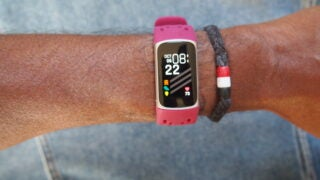 Fitbit Charge 5 on wrist