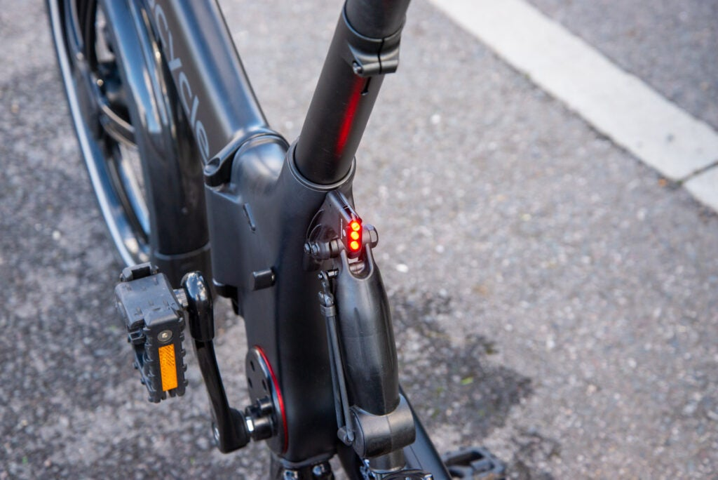 GoCycle G4 rear light