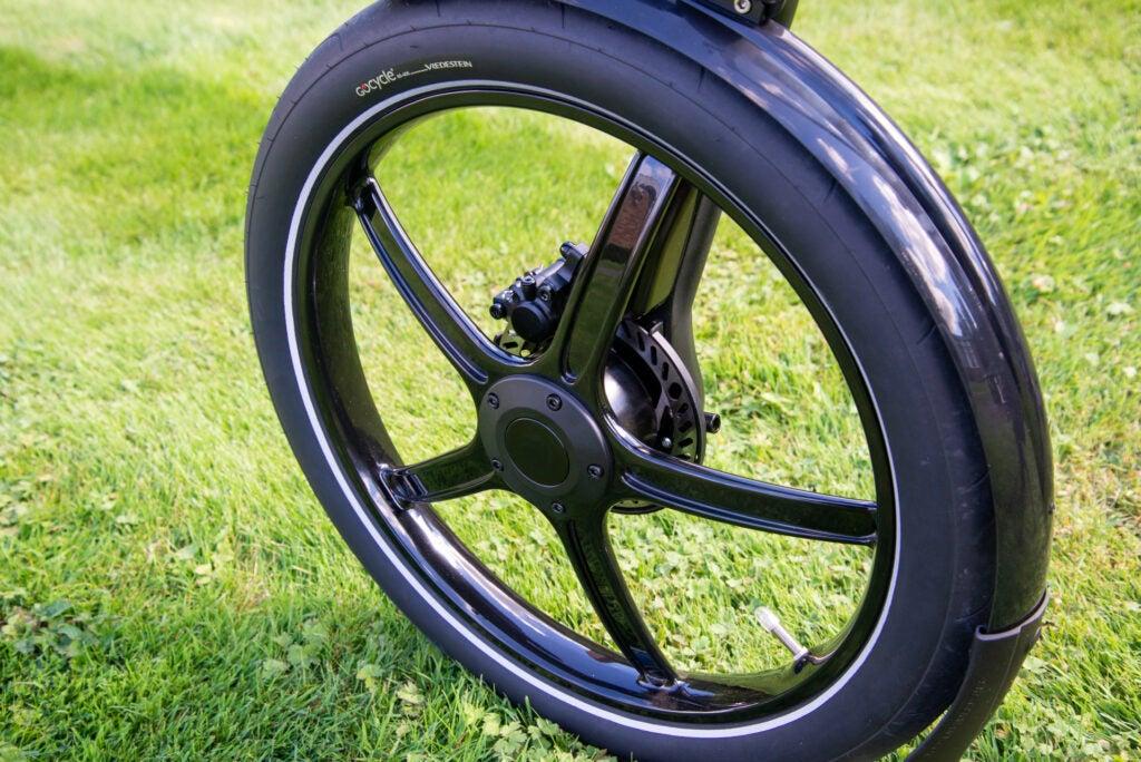 GoCycle G4 front wheel