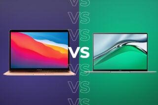 MacBook Air vs MateBook 14s