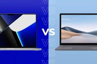 MacBook Pro vs Surface Laptop 4