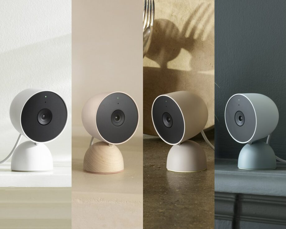 Nest Cam Wired colour options