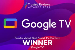 Trusted Reviews Awards 2021 Readers Award Smart TV Platform
