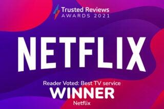 Trusted Reviews Awards 2021 Readers Award TV Service
