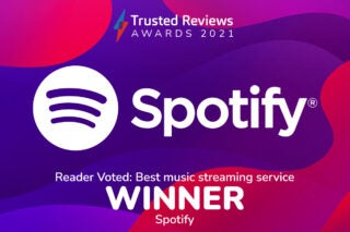 Trusted Reviews Awards 2021 Readers Award Music Streaming Service