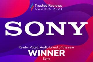Trusted Reviews Awards 2021 Readers Award Sony Audio