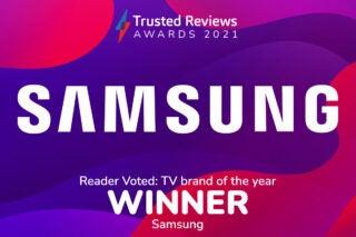 Trusted Reviews Awards 2021 Readers Award TV Samsung