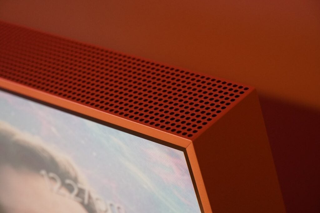 Sky Glass upfiring speakers