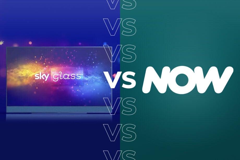 Sky Glass vs NOW