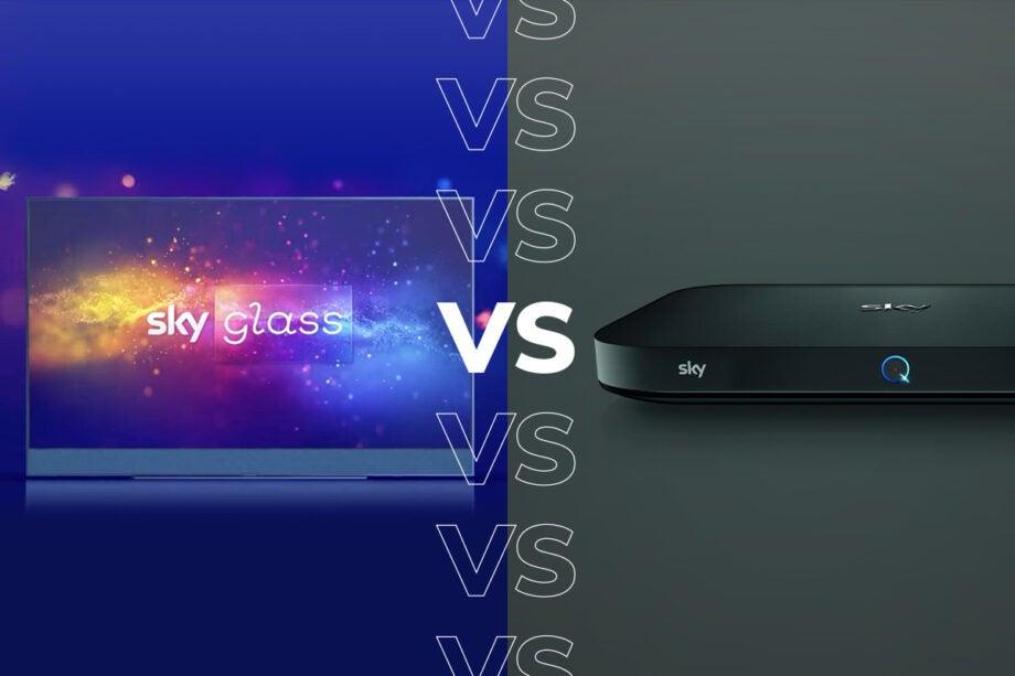 Sky Glass vs Sky Q