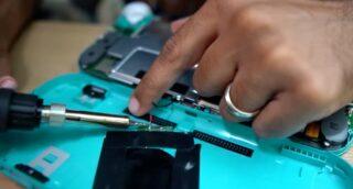 Switch Lite wireless charging hack