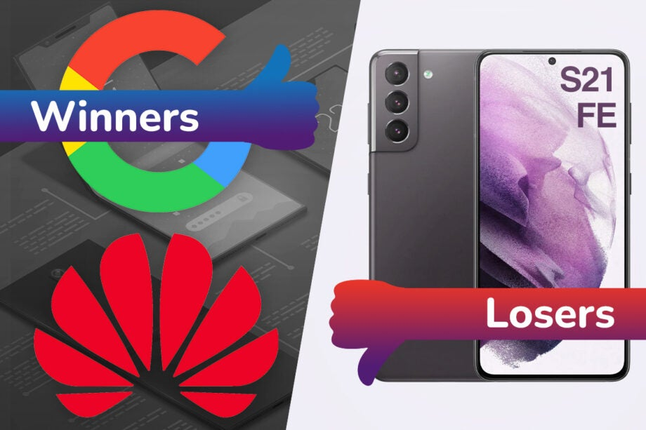 Winners and Losers Pixel fold S21 FE