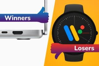 MacBook Pro scores the winners spot whilst Pixel Watch is our week's Loser