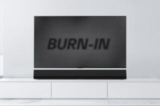 OLED burn in image retention