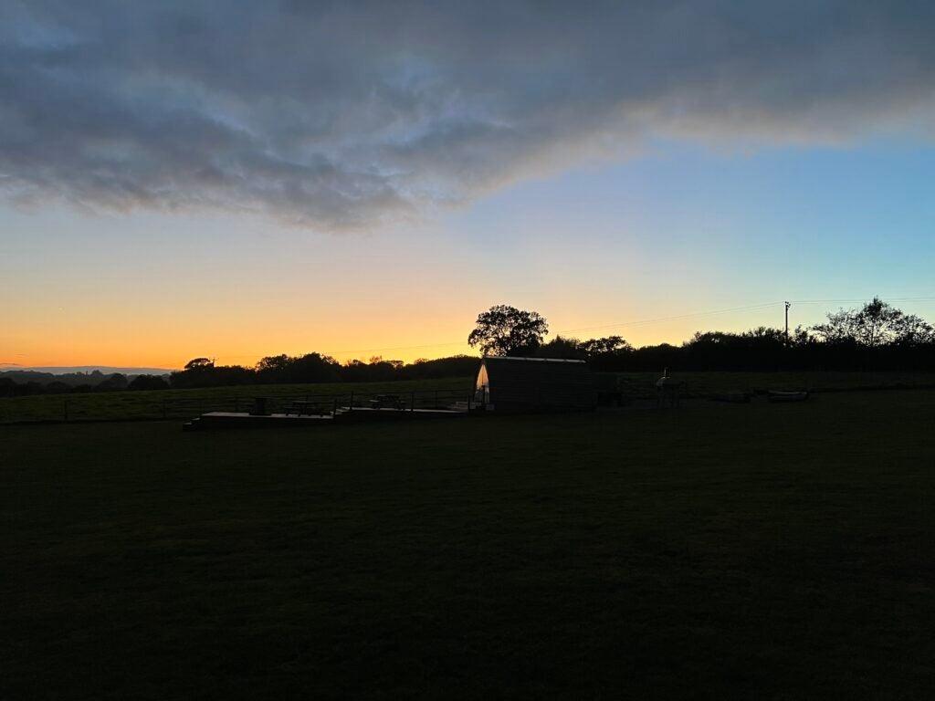 iphone 13 pro sunset
