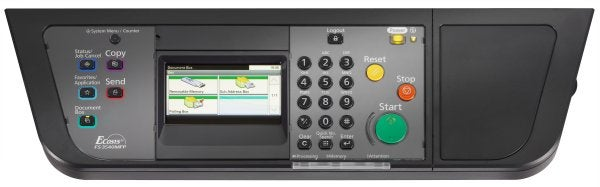 Kyocera Mita FS-3540MFP - Controls