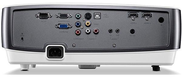 BenQ W1200 - rear ports