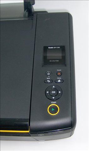 Kodak ESP C310 - Controls