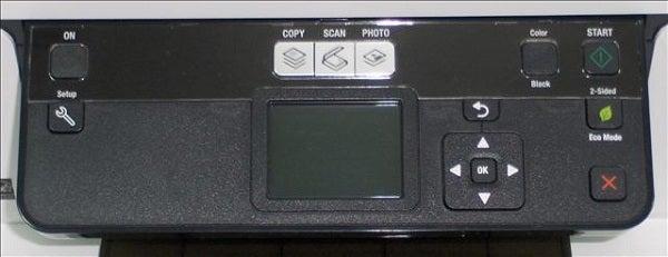 Dell P513w - Controls