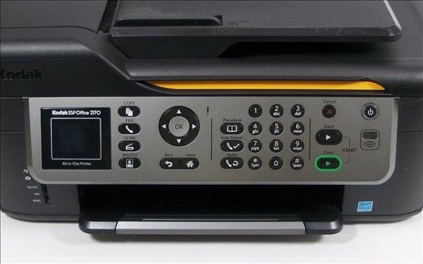 Kodak ESP Office 2170 - Controls