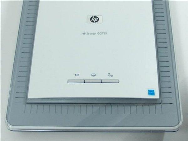 HP Scanjet G2710 - Controls