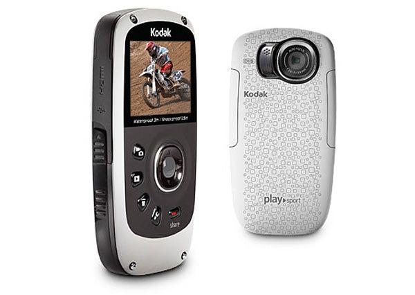 Kodak Playsport Zx5 - left and rear