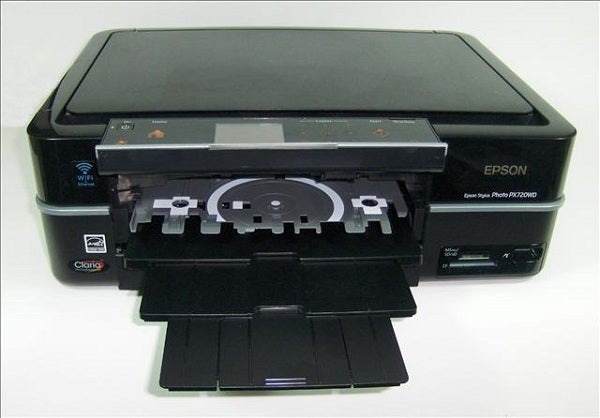 Epson Stylus Photo PX720WD - CD Tray