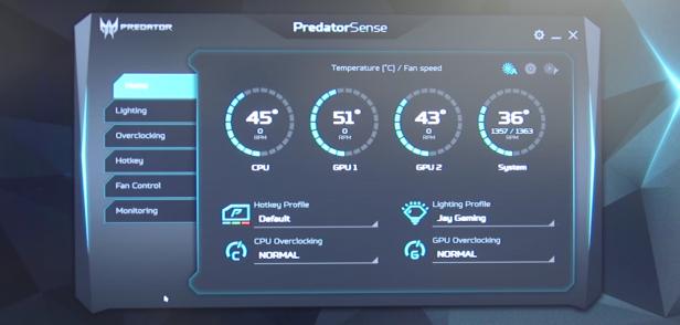 Acer Predator 21 X 4