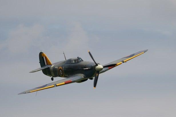 Hawker Sea Hurricane shot with Sony Alpha 9