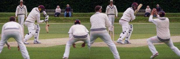 Cricket catch shot with Sony Alpha 7