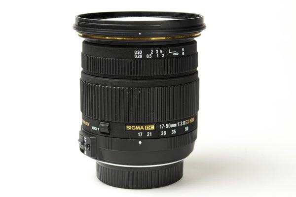 Sigma 18-50mm DC EX HSM OS