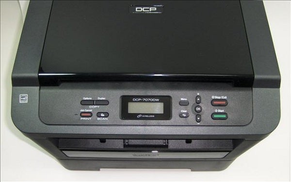 Brother DCP-7070DW - Controls