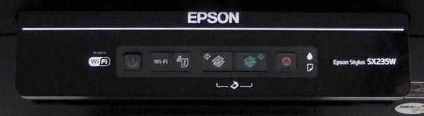 Epson Stylus SX235W - Controls