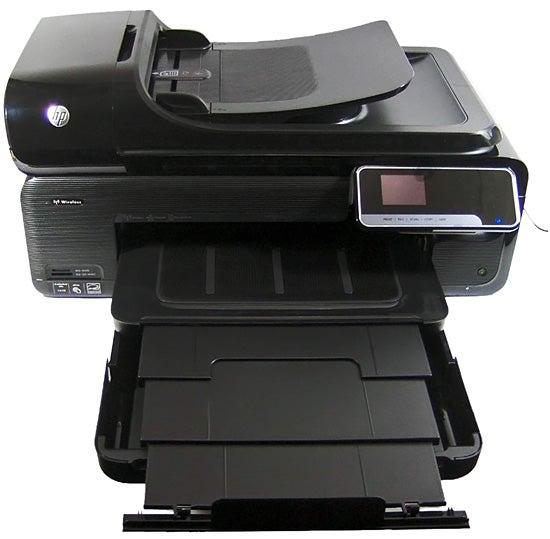 HP Officejet 7500A - tray open
