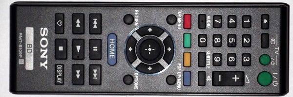 Sony BDP-S380 remote