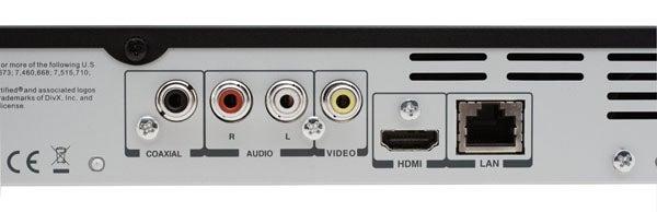 Toshiba BDX1200 Connections